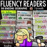 PHONICS: FLUENCY READERS: ENDING DIGRAPHS: INTERACTIVE NOTEBOOK