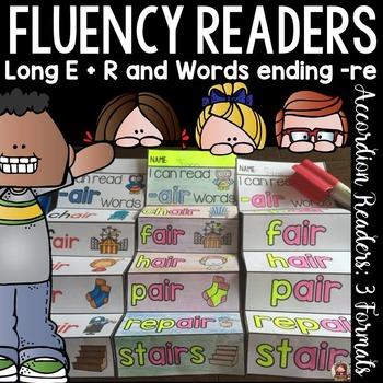 PHONICS: FLUENCY READERS: LONG ER SOUNDS: WORDS ENDING IN RE
