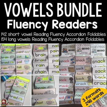 PHONICS: FLUENCY READERS: VOWELS MEGA BUNDLE