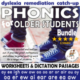 {Dyslexia Worksheets} {Middle School Reading Intervention}