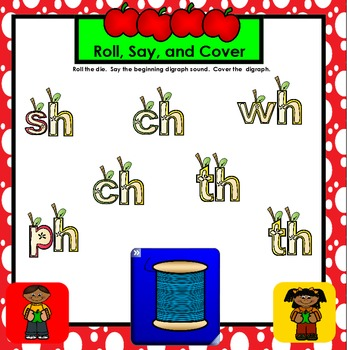 SMARTBOARD PHONICS GAMES:  Apple Edition