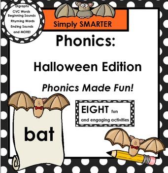 PHONICS:  Halloween Edition