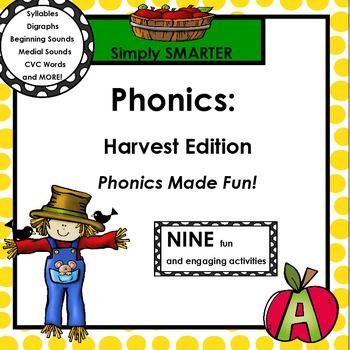 PHONICS:  Harvest Edition