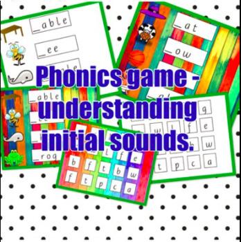 PHONICS INITIAL SOUND GAME