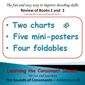 PHONICS INTERVENTION: Learning the Consonant Sounds Addendum #1
