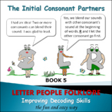 PHONICS INTERVENTION:  Learning the Consonant Sounds  Book