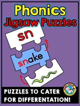 PHONICS PUZZLES: CONSONANT DIGRAPHS AND BLENDS CENTER: BLE