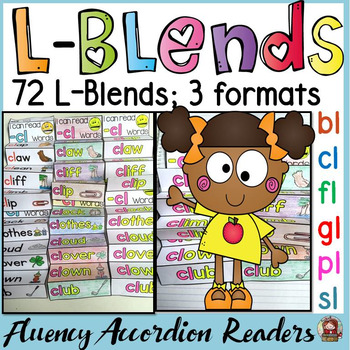 PHONICS: L BLENDS FLUENCY READERS
