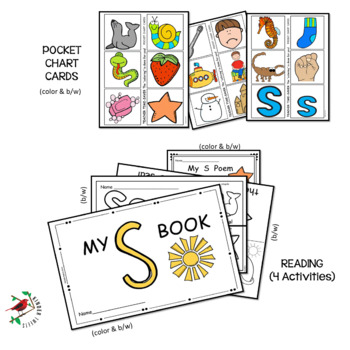 PHONICS LETTER OF THE WEEK S LITERACY CENTERS