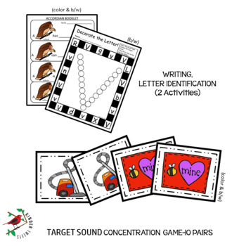 PHONICS LETTER OF THE WEEK V LITERACY CENTERS PHONICS AND PHONEMIC AWARENESS