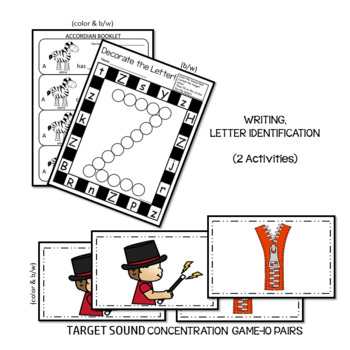 PHONICS LETTER OF THE WEEK Z LITERACY CENTERS PHONICS AND PHONEMIC AWARENESS