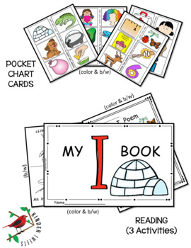 PHONICS LITERACY CENTERS FOR LETTER i LOW PREP LETTER OF THE WEEK