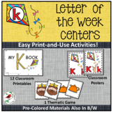 PHONICS AND PHONEMIC AWARENESS CENTER ACTIVITIES FOR THE LETTER K