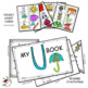 PHONICS  LITERACY CENTERS FOR LETTER U LOW PREP LETTER OF THE WEEK