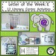 PHONICS LITERACY CENTERS FOR VOWELS A, E, I, O, U LOW PREP LETTER OF THE WEEK