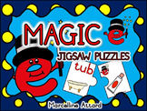 CVCe (MAGIC E) PUZZLES: LONG VOWELS CENTER: CVC+E PHONICS