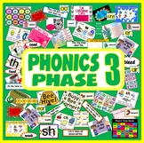 PHONICS PHASE 3 TEACHING RESOURCES EYFS KS1 READING LETTERS SOUNDS