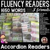 PHONICS: PHONEMIC AWARENESS: FLUENCY READERS: INTERACTIVE NOTEBOOK: BUNDLE