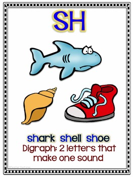 PHONICS POSTERS: DIGRAPHS
