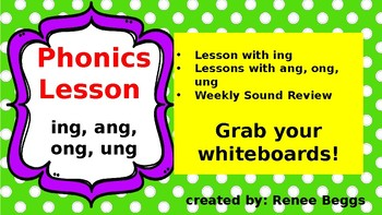PHONICS POWER PACK 2: -ing, -ang, -ong, -ung