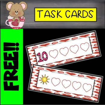 Valentine's Day Phonemic Awareness Cards (Push and Pull)