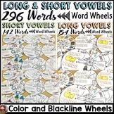PHONICS: SHORT VOWELS: LONG VOWELS: WORD WHEELS BUNDLE
