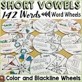 PHONICS: SHORT VOWELS: WORD WHEELS