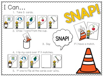 PHONICS ~ SNAP!  Digraphs and Blends (Initial Sounds)