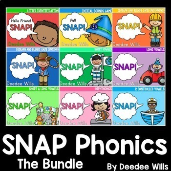 PHONICS ~ SNAP! The  Bundle