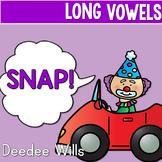 PHONICS ~ SNAP!  Long Vowels Phonics Game