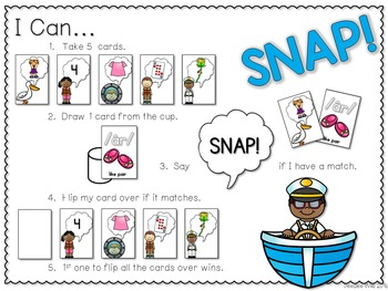 PHONICS ~ SNAP!  R Controlled Vowels