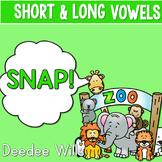 PHONICS ~ SNAP!  Short and Long Vowels Phonics Games