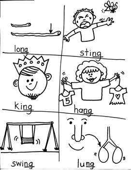 PHONICS TARGET:  WORDS ENDING WITH /NG/ /NK/ AND DIGRAPHS /WR/KN/GN/ for ARTISTS