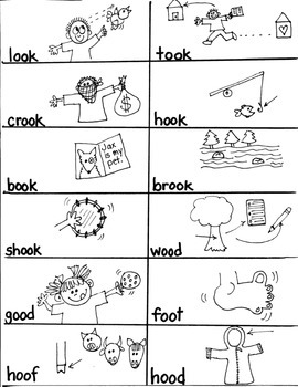 PHONICS TARGETS  /OO/   for FIRST GRADE ARTISTS