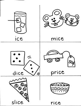 PHONICS TARGETS (long  /i/  word families) for FIRST GRADE
