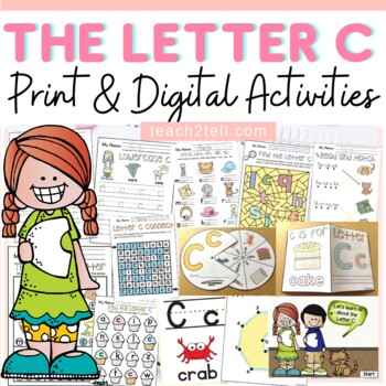 PHONICS: THE ALPHABET {LETTER C}