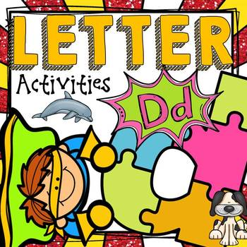 PHONICS: THE ALPHABET: LETTER D