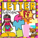 PHONICS: THE ALPHABET {LETTER F}