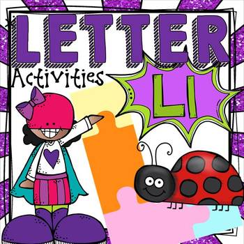 PHONICS: THE ALPHABET {LETTER L}