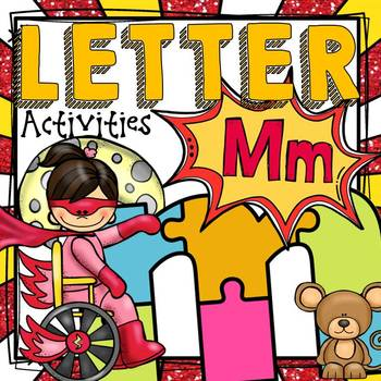 PHONICS: THE ALPHABET {LETTER M}
