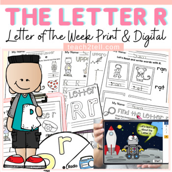 PHONICS: THE ALPHABET: LETTER R