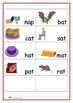 PHONICS WORKSHEETS - CVC - a is the vowel