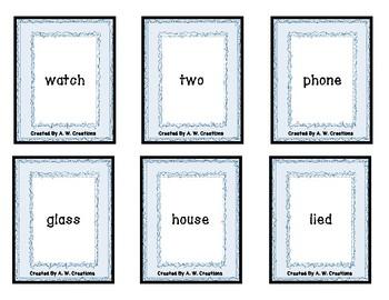 PHONO! Syllables (Uno) Card Game PHONICS
