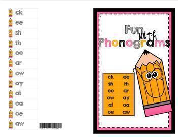 PHONOGRAMS - Fun With Phonograms - Bundle of 4