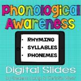 PHONOLOGICAL AWARENESS DIGITAL BUNDLE