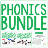 PHONOLOGICAL AWARENESS // STAGE 3 // PHONICS AND COMMON WO