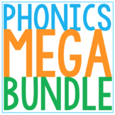 PHONOLOGICAL AWARENESS // STAGES 1 - 3 BUNDLE // PHONICS A