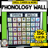 PHONOLOGY WALL SPEECH THERAPY  ROOM DECOR  /k/ & /g/ and /s/ blends