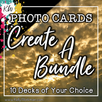 PHOTO CARDS - Create your own Bundle!