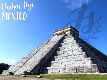 PHOTO: Chichén Itzá, México (Spanish label)